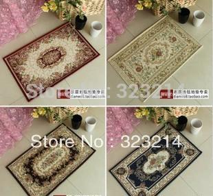 Grátis frete Stylish tapete, Lovely Rose Carpet tapete do quarto, tapete da cozinha varanda mat(China (Mainland))