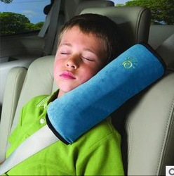 2013 new fashion children safety quard pillow car seat belt set baby car sleeping pillow guard freeshipping 001(China (Mainland))