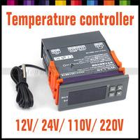 New Digital LCD Thermostat Regulator Temperature Controller with probe/ 12V 24V 110V 220V