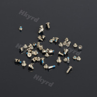 10X HOT White Repairing Parts Metal Complete Screw Set Fit For i Phone 5 D0486
