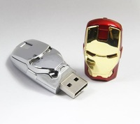 Iron Man USB Flash Drive 1GB 2GB 4GB 8GB 16GB 32GB 64GB