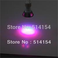 5pcs 3W  led grow light 2Red 1Blue GU10 Hydroponics Flowering LED Plant Grow Lamp
