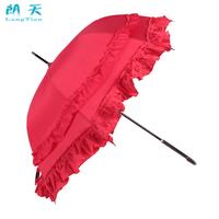Double laciness umbrella long-handled umbrella festive married umbrella