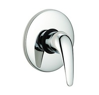 Free Shipping! Single Handle Chrome Wall-mount Shower Faucet W/ Control Valve Bathroom Accessories