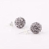 Shambala Balls Beads Eearrings Shambhala Rhinestone Crystal Fashion Jewelry Shamballa Earring B043
