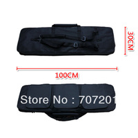 New 100cm 39in. Black Rifle Carring Case Bag for Hunting  Hunting  Accessories ,free shipping