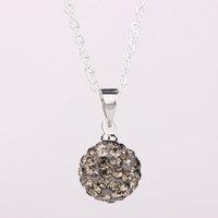 Shambhala Rhinestone Crystal Fashion Jewelry Shamballa Necklace Shambala Balls Bead Necklaces P002