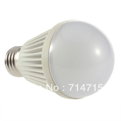 New E27 9W SMD Positive White Light /Warm White Bulb Super bright 100% Brand New(China (Mainland))