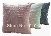 Free Shipping! Polyester Lace+/Linen/Rayon Fabric Cushion Cover/ fancy cushion /pillow case lace cushion
