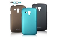 NEW! ROCK naked shell Case for samsung i8262  HK post free shipping 30pcs/lot