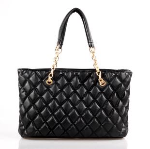 2012 autumn and winter plaid chain bag small bubble women's handbag one shoulder handbag