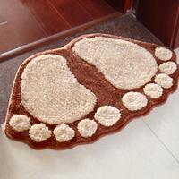 Big feet bathroom absorbent pad door mat carpet mats doormat mat