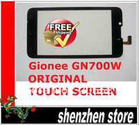 Gionee GN700W Original Touch Screen Digitizer/Replacement Touch Panel glass Free Shipping AIRMAIL  + tracking code