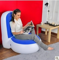 Free shipping flocking inflatable sofa , L-shape sofa ,size :90x80x94 CM