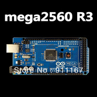 Электронные компоненты SHIP Sale! Mega2560 ATmega2560-16AU Board +USB Cable Compatible with Arduino mega 2560