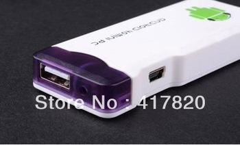Hotting!!!mini pc android  4.0 Smart TV Google Box Skype 1080P HD mini Player pc andriod tv
