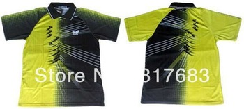 wholesale!2012 Butterfly Man's Badminton /table tennis shirt polo BF17