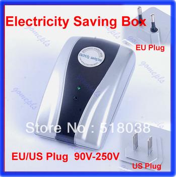Energy Saver Box Power Electricity Saving Box Save Electricity Bill & EU/US  plug