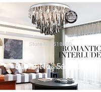 Name Brand  New Arrival  Modern Luxury Fashion  Drawing Room Bedroom Crystal Ceiling Chandelier Light 60cm Diameter Lighting