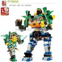 Sluban 396pcs/set Children's DIY educational  toys. Super wiarriorM38-B8300 block toys. Free shipping