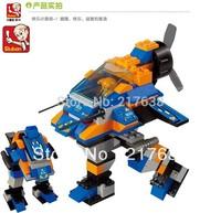 Sluban 126pcs/set Children's DIY educational  toys. Lightning M38-B7600 block toys. Free shipping