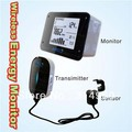 Real time Wireless Energy Monitor for Electricity/Carbon power meter saver CO2 emission environment protection Free Shipping