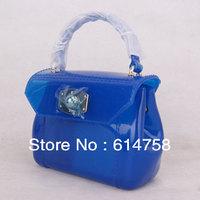 Free shipping 2013 New Arrived  hot selling Mini cnady bag  women's PVC  jelly handbags fashion beautiful Mini bag