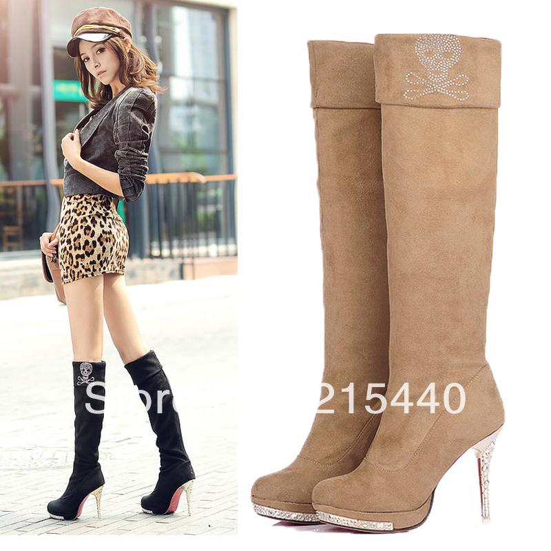 High Heel Boots Sexy | Tsaa Heel