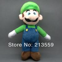 """Free Shipping New Super Mario Bros. Stand LUIGI Plush Doll Stuffed Toy 10"""" Retail"""