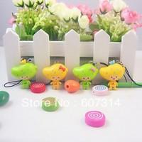 Wholesale fashion discount personalized Valentine Day gift novelty cartoon cute kawaii mango mobile phone pendant free shipping