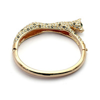 Exquisite Quality 18K White/Roee Gold Plated Bracelet Jewelry Austrian Crystals Best Seller Wholesale 1662627