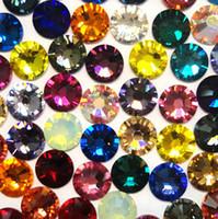 Nail Rhinestone & Decoration SS20 5mm Nail Art Mixed Colors 1440pcs/Lot 3d nail sticker HB924-S20