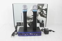 Free shippingProfessional VHF wireless micropho handhold Audio Wireless Microphone