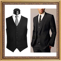 Design professional male vest formal vest three-dimensional cut suit