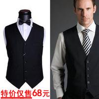 2012 vest slim male vest thin formal vest