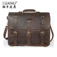 Crazy horse leather vintage bag men large capacity cowhide travel luggage bag duffle gym bag Tote multifunctional backpack 5048