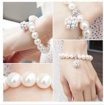 hot selling 2014 wholesale lots bracelet Korean jewelry bracelet all-match  Ball cheap bracelets 2049
