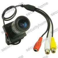 420TVL 3.5-8mm Adjust ZOOM Lens CMOS 420TVL Color A/V CCTV Camera with MIC