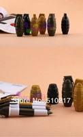 40pcs/lot creative personality CF Cross Fire grenade pen retractable ballpoint pen Oil pen advertising Pen free ship