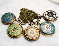 Fashion jewelry vintage delicate pocket watch free shopping
