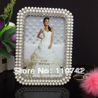 "Фоторамка Pearl crystal Zinc Alloy picture frame photo frame 4""x6"" for gifting"