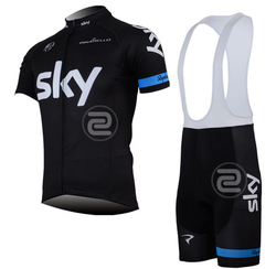 2013 SKY Team cycling jersey/ cycling clothing/ cycling wear+short bib suit-SKY1A Free Shipping(China (Mainland))