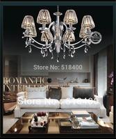 Name Brand Modern Luxury Fashion  Drawing Room Dining Room Bedroom Hall Crystal Pendant Chandelier Light 85cm Diameter Lighting