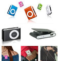 MINI Metal clip MP3 Player with Micro TF/SD card Slot Support 1-8GB MicroSD card 20pcs/lot freeshipping(China (Mainland))