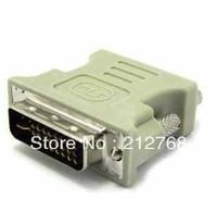 DVI 24+5 male to VGA female adapter adaptor DVI-D DVI-I DVI-A