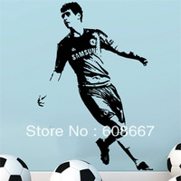 Free shipping New Wall sticker  FOOTBALL Sports1260mm*870mm Home Decor Fashion Mural Decal Art Wall decor Vinyl O-02
