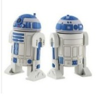 wholesales!Fashion Creative star war robot (R2D2) model USB 2.0 Memory Stick Flash Drive 4GB 8GB16GB 32GB(China (Mainland))