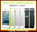 Newest SGP NEO Hybrid EX series colorful Bumper Case For iPhone 5  High quality + Retail box DHL Free shipping 20pcs/lot