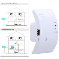 Wireless-N Networking Device Wifi Wi-Fi Repeater Booster Router Range Expander 300Mbps 2dBi Antennas with US/EU/AU Plug