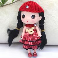 Little girl toy doll gift box cloth doll birthday gift